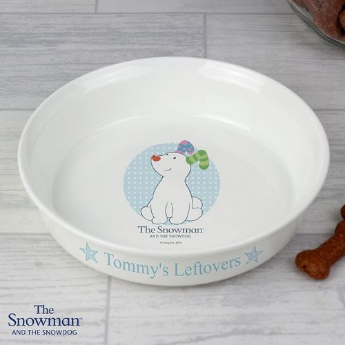 The Snowdog Blue Dog Bowl